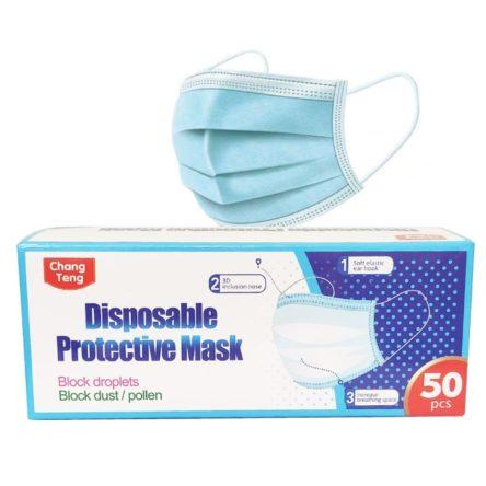 Μάσκα Προστασίας μίας Χρήσης Chang Teng  (50τμχ)