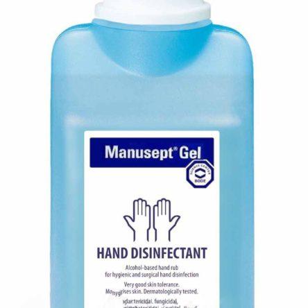 Αντισηπτικό χεριών Manusept gel 475ml (με αντλία)