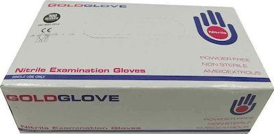 Γάντια Νιτριλίου GOLDGLOVE (100τμχ) LARGE μαύρα