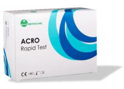 Τεστ Αντιγόνου Ανίχνευσης Κορονοϊού COVID-19 ACRO BIOTECH, Περιέχει 20 Τεστ